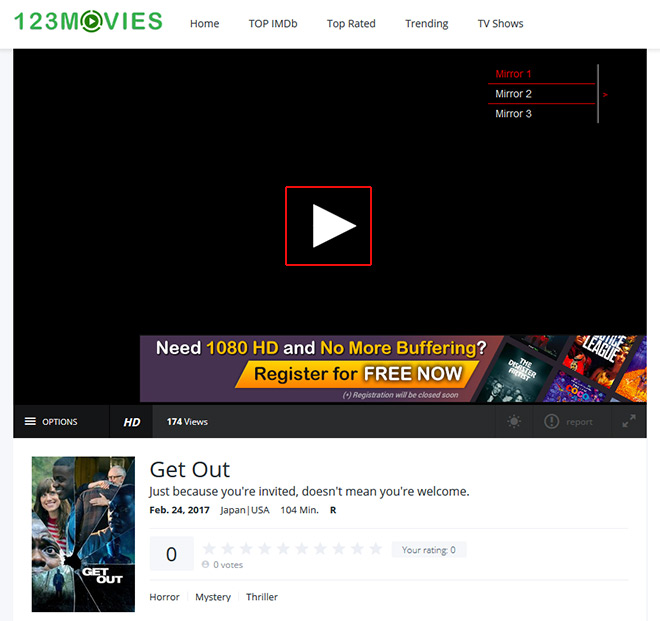 howto Watch Get Out Online for free