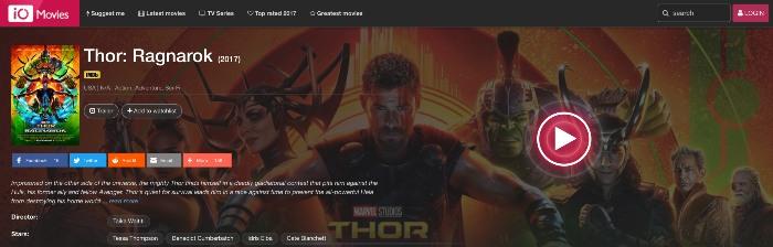 thor ragnarok online free streaming