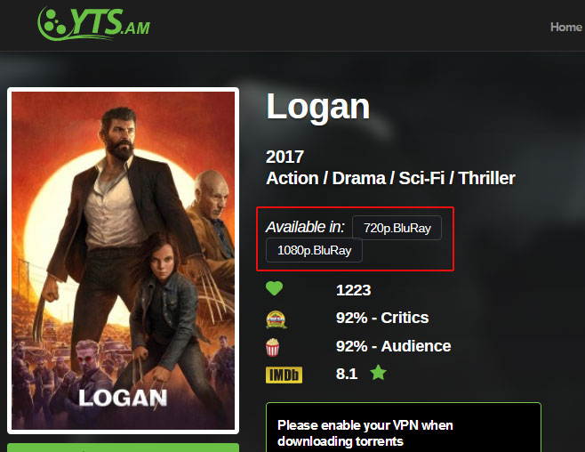 Howto Watch Logan Online for free