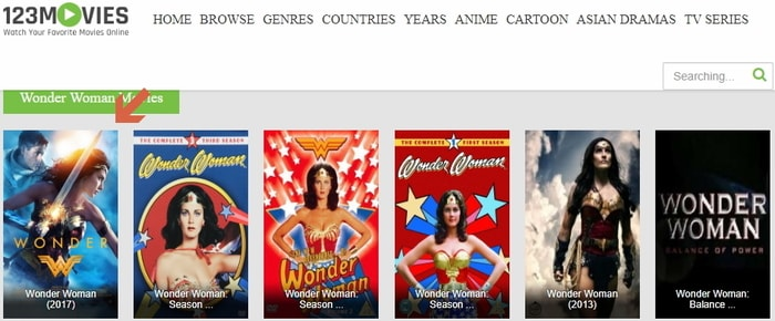Watch Wonder Woman 2017 Online