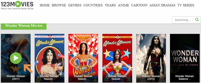 Watch Wonder Woman 2017 Online for Free