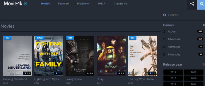 10 Project Free TV Alterantive Sites for Watching Movies in 2019