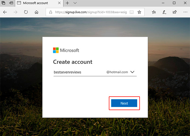 hotmail e-mail