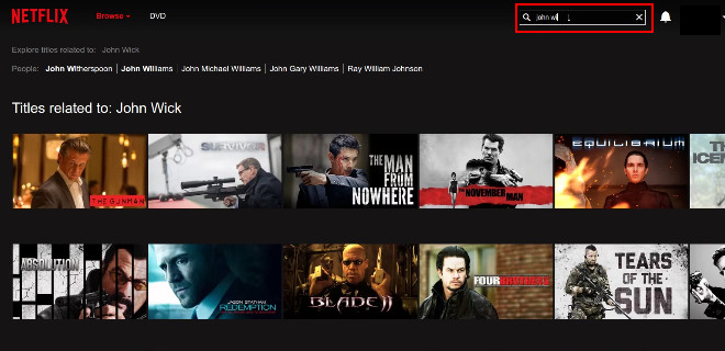 netflix streaming movie