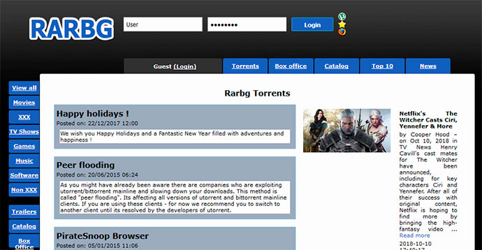 7 Best ExtraTorrent Alternatives in 2019 [100% Working]
