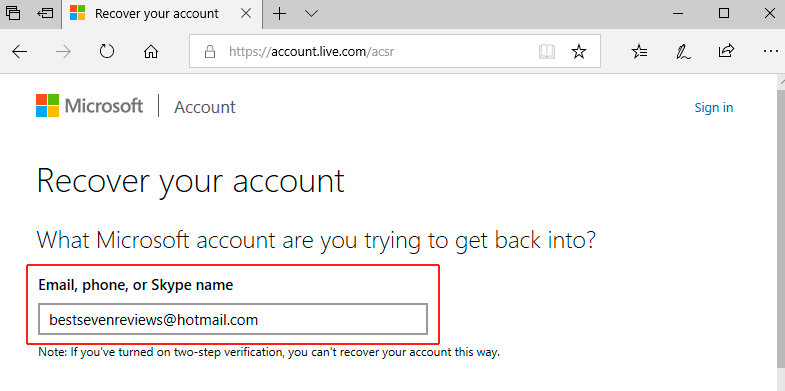 how to log in hotmail