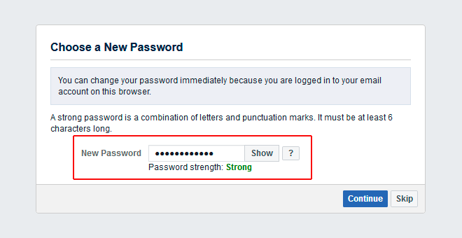 facebook login account