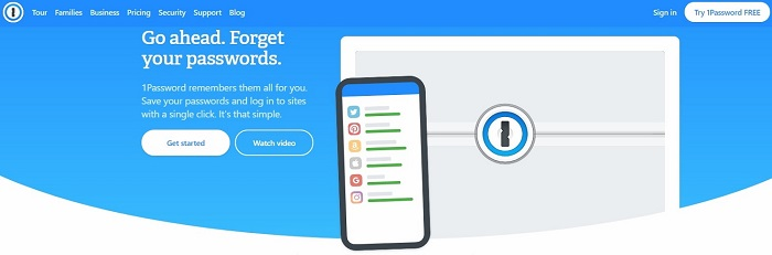 best password manager app software