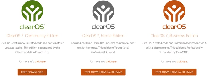 clear os editions