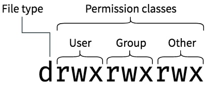 linux files and file permissions