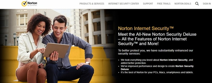 Norton internet security for outlook