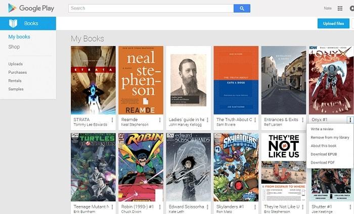 Free books google download epub