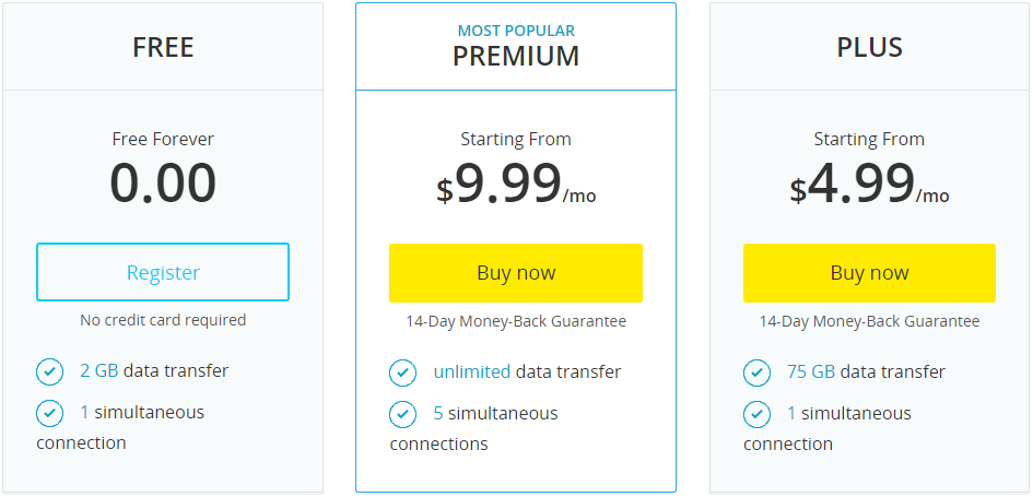 hideme vpn pricing