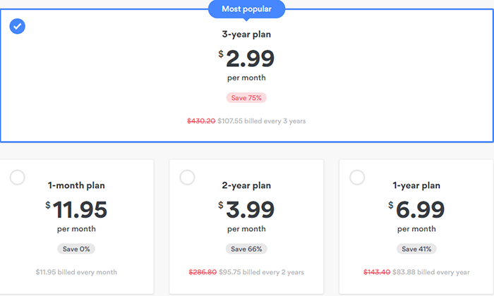 nord vpn price 2019