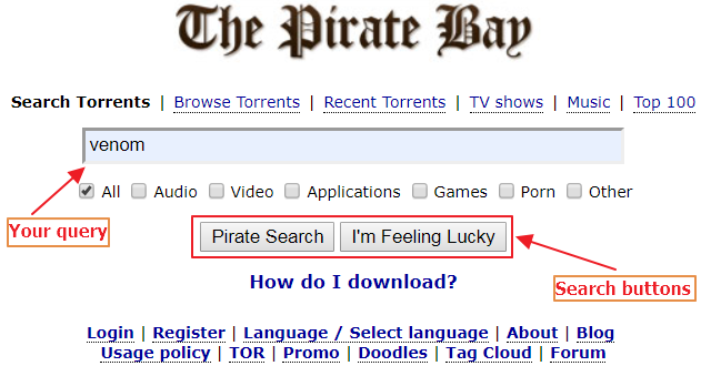 pirate bay torrent