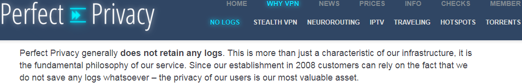 vpn that doesn't keep log activity