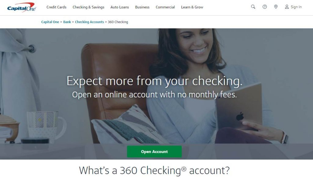 Capital One 360 Checking