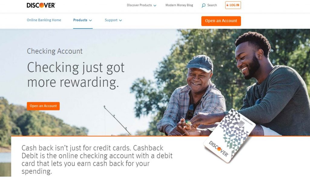 Discover Checking Account
