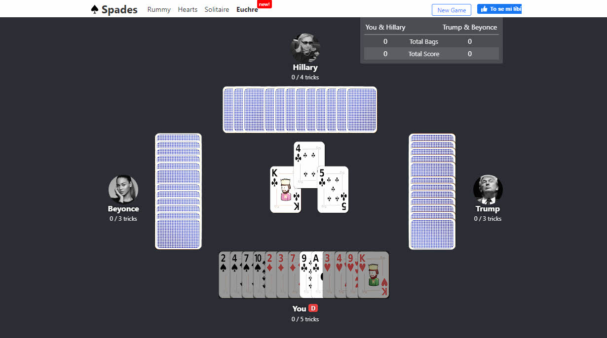 Play Spades Online