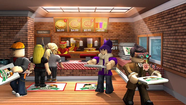 Work at a Pizza Place roblox