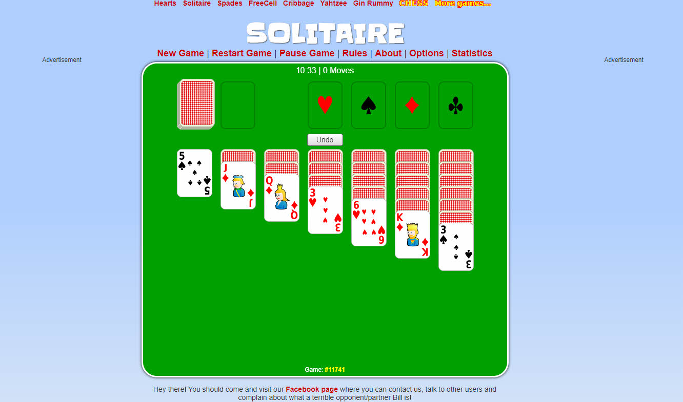 cardgames solitaire