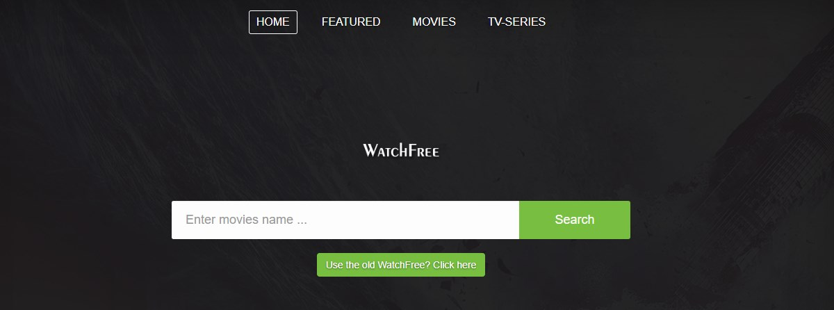 watchfree frontpage