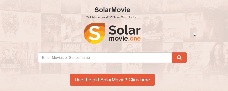 solarmovies frontpage