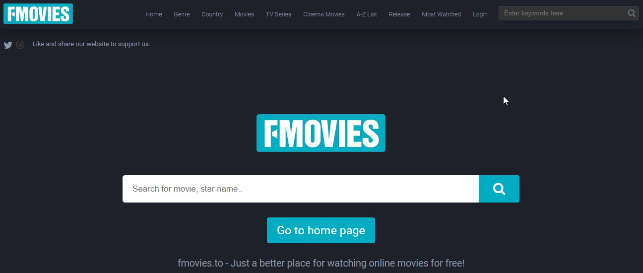fmovies frontpage