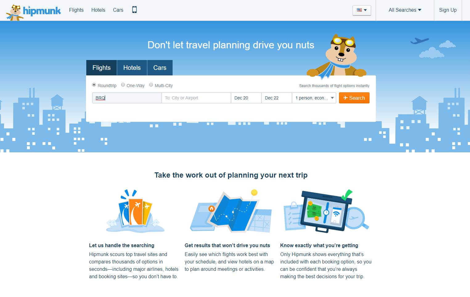 hipmunk expedia alternative