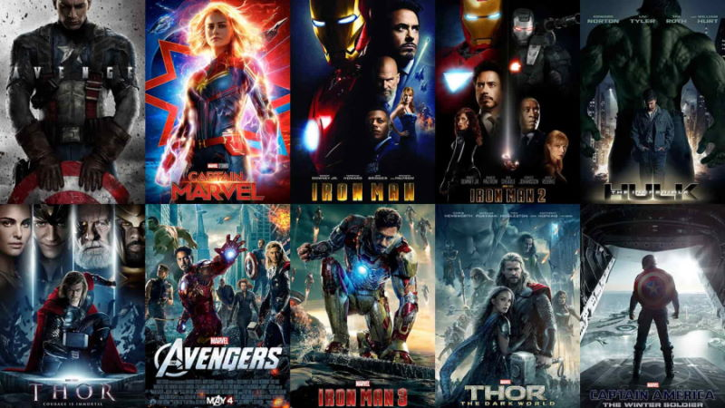 marvel movies chronological order